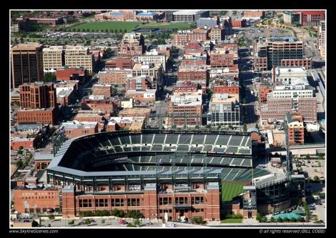 Coors Field in LoDo, Denver