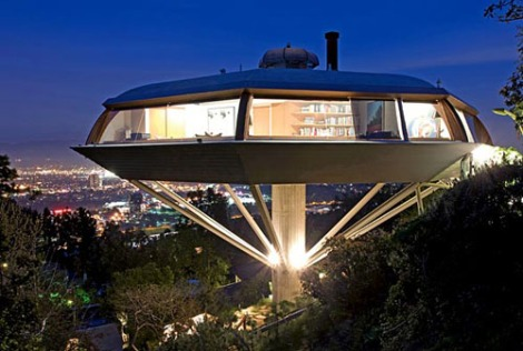 John Lautner's ChemosphereSource: http://www.dailyicon.net/2009/01/icon-john-lautners-chemosphere-house/