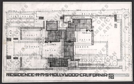 R. M. Schindler's HouseSource: http://www.aaa.si.edu/collections/viewer/photo-reproduction-plan-schindler-house-10520