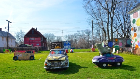 The Heidelberg Project on Detroit's East Side