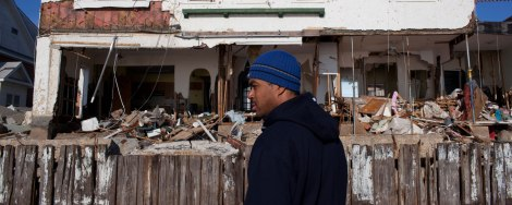 An image from one of Sandy Storyline's documentary accounts from Hurricane Sandy-ravaged Brooklyn.
