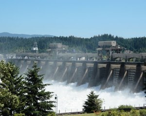Bonneville Dam, Oregon.