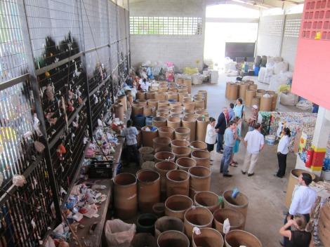 Jardim Pantanal Recycling Center